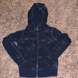 Lululemon blue camo hoodie